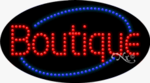 Boutique LED Sign