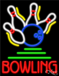 Bowling Business Neon Sign