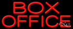 Box Office Business Neon Sign