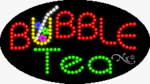 Bubble Tea LED Sign