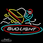 Bud Light Snowmobile Neon Sign