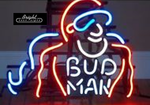 Bud Man Neon Sign