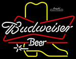 Budweiser Boot Neon Sign
