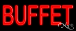 Buffet Economic Neon Sign
