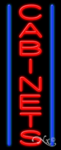 Cabinets Business Neon Sign