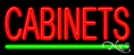 Cabinets Economic Neon Sign
