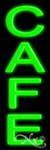 Caf�2 Economic Neon Sign
