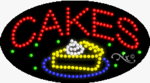 Cakes2 LED Sign