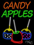 Candy Apples LED Sign