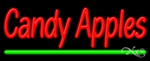Candy Apples Business Neon Sign