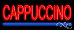 Cappuccino Economic Neon Sign