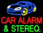 Car Alarm Business Neon Sign