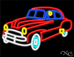 Car Business Neon Sign