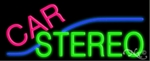 Car Stereo Neon Sign