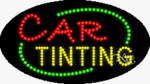 Car Tinting LED Sign