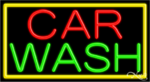 Car Wash Business Neon Sign