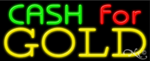 Cash for Gold Business Neon Sign