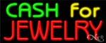 Cash for Jewelry Business Neon Sign
