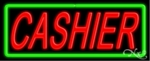 Cashiers Neon Sign