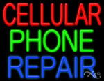 Cellular Phone Repair Business Neon Sign