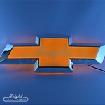 Chevy Bowtie Backlit LED Sign