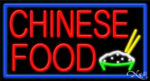 Chinese Food Business Neon Sign