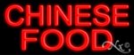 Chinese Food Economic Neon Sign