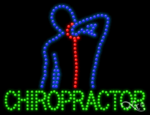 Chiropractor LED Sign