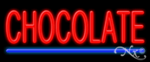 Chocolate Economic Neon Sign