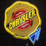 Chrysler Neon Sign