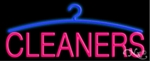 Cleaners Logo Neon Sign
