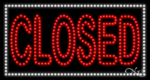 Closed LED Sign