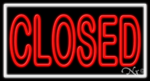 Closed Business Neon Sign