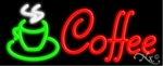 Coffee Logo Neon Sign