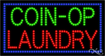 Coin Op Laundry LED Sign