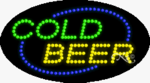 Cold Beer LED Sign