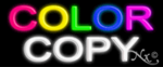 Color Copy Economic Neon Sign