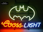Coors Batman Neon Sign