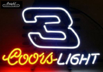 Coors Light 3 Neon Sign