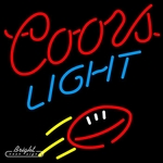 Coors Light Football Neon Sign
