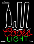 Coors Light NY Neon Sign