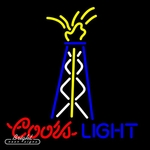 Coors Light Oil Well Neon Sign