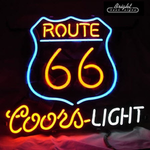 Coors Route66 Neon Signs