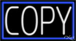 Copy Business Neon Sign