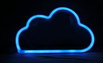 Cordless Cloud LED Blue Light