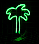 Cordless Palm Tree LED Light