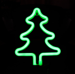 Cordless Pine Tree LED Light