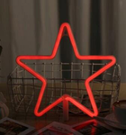 Cordless Red Star LED Light