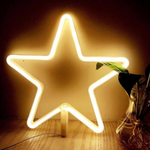 Cordless Warm White Star LED Light