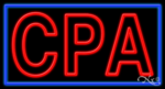 CPA Business Neon Sign
